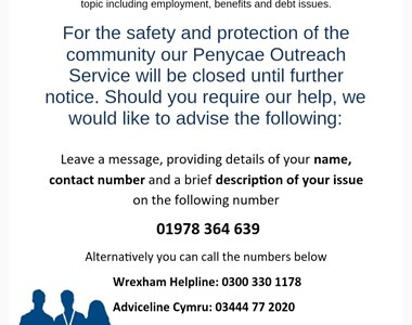 Citizens Advice Bureau - update
